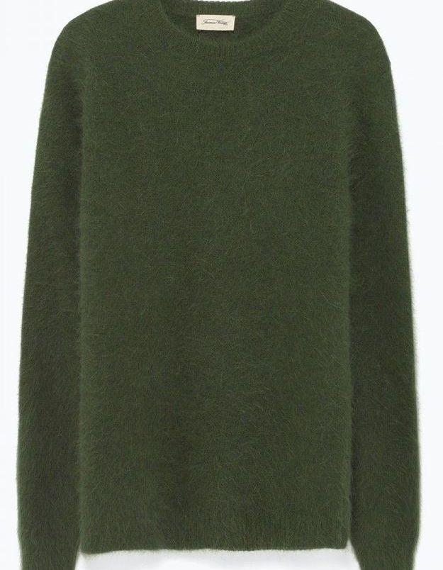 Pull vert American Vintage