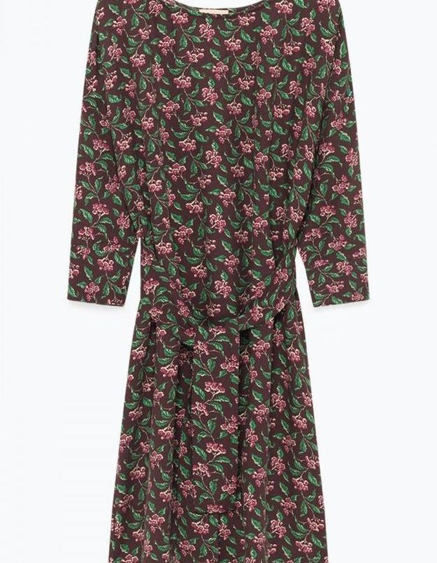 Robe à fleurs American Vintage