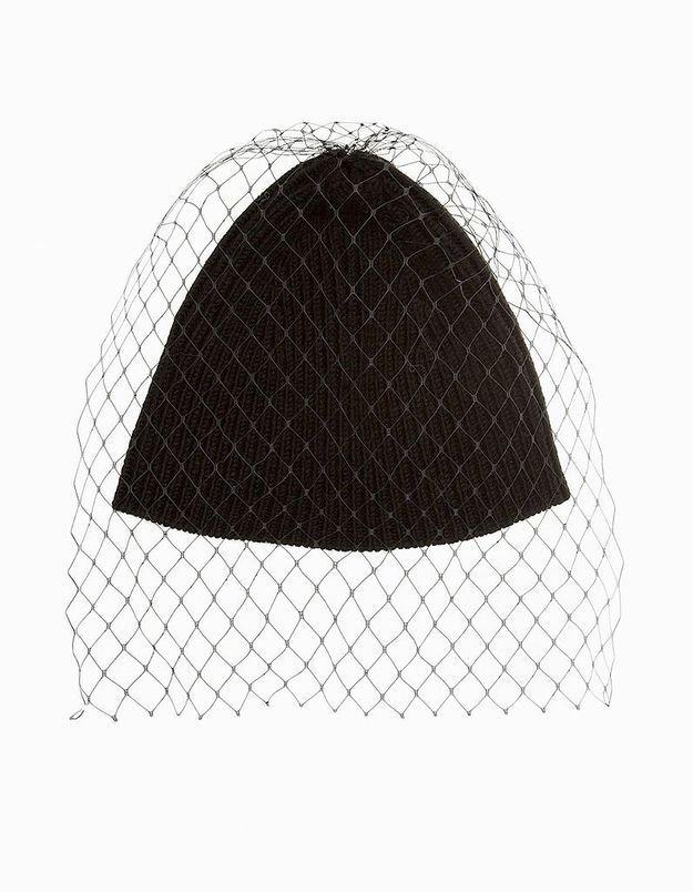 Le bonnet à voilette