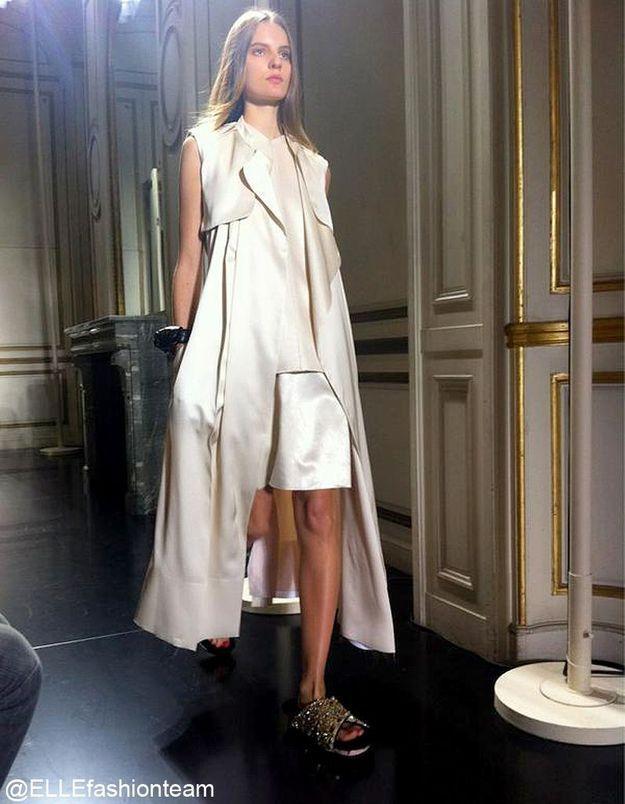 Défilé Céline : prêt-à-porter été 2013 birkenstock glitter