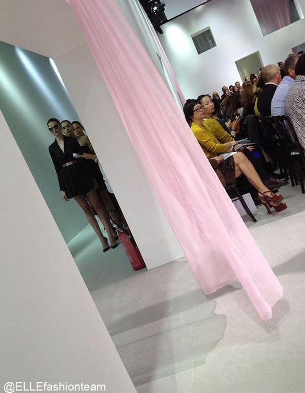 Défilé Dior : les coulisses