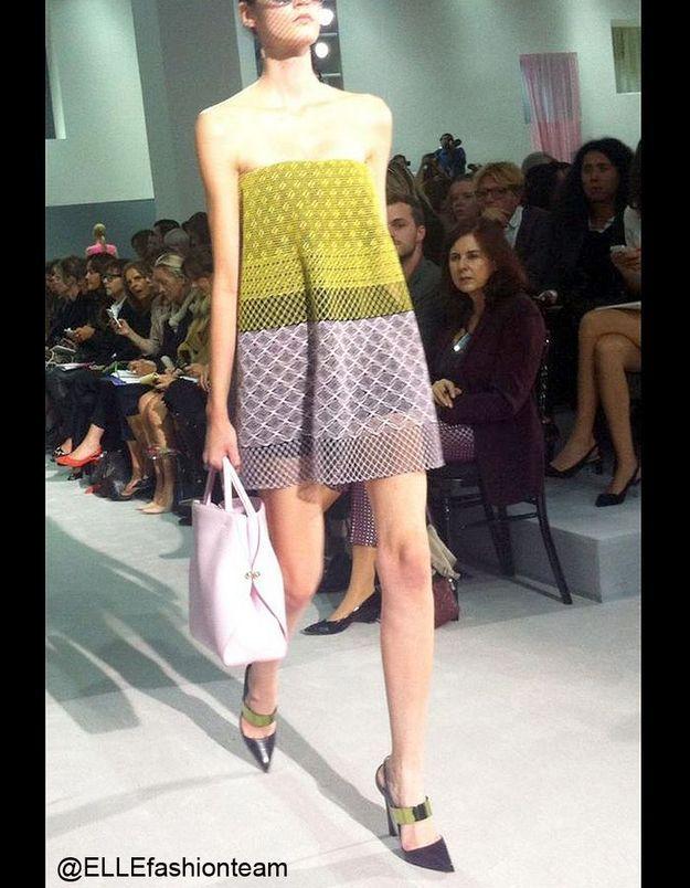 Défilé Dior : prêt-à-porter été 2013