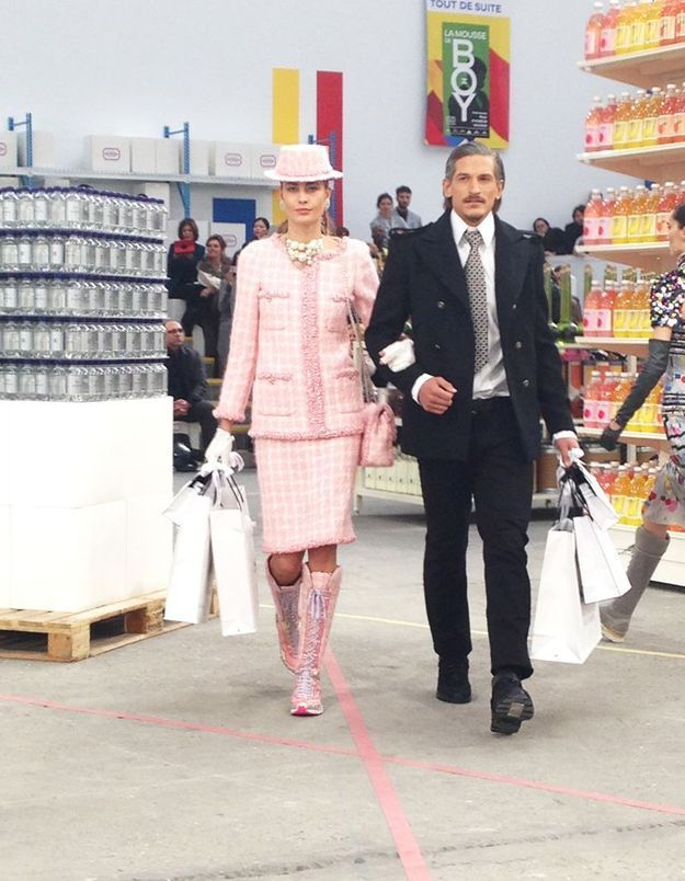 Le couple Chanel en plein shopping