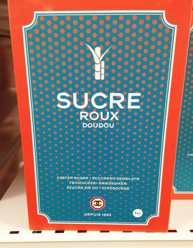 Le sucre Roux Doux siglé Chanel!