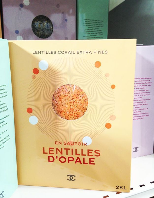 Les lentilles corail à porter en sautoir?