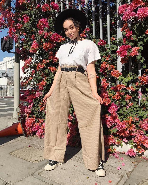 Le pantalon oversize de Hannah