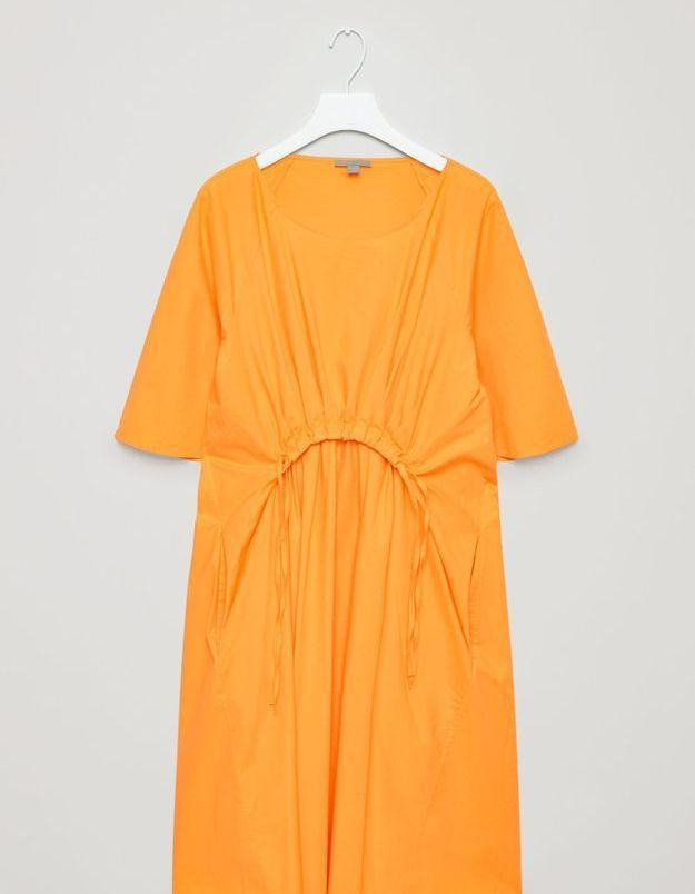 Robe jaune safran Cos