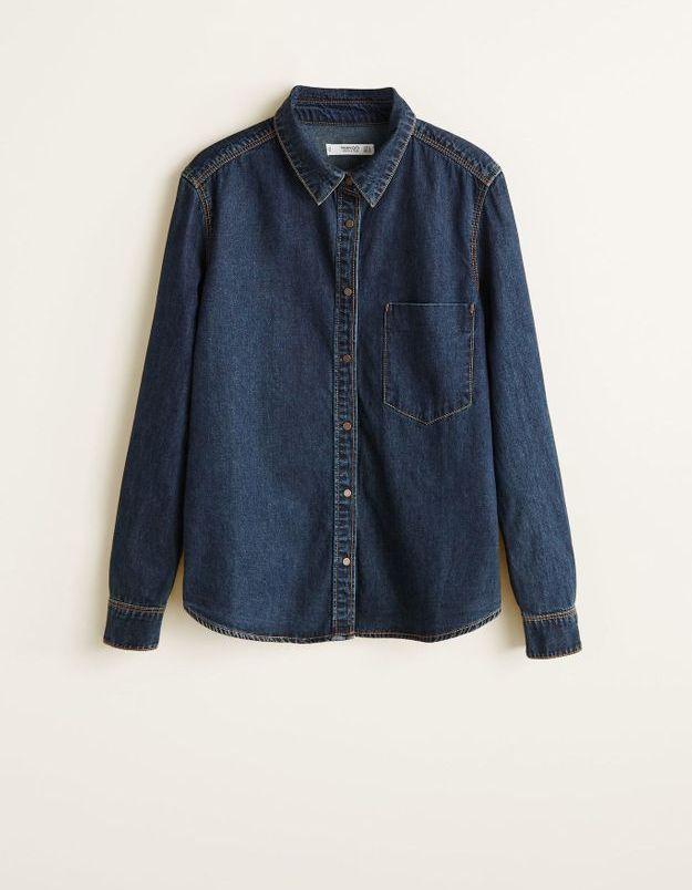Une chemise en jean