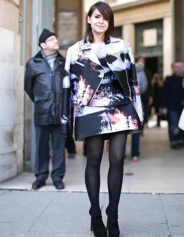Une fille qui aime les jupes