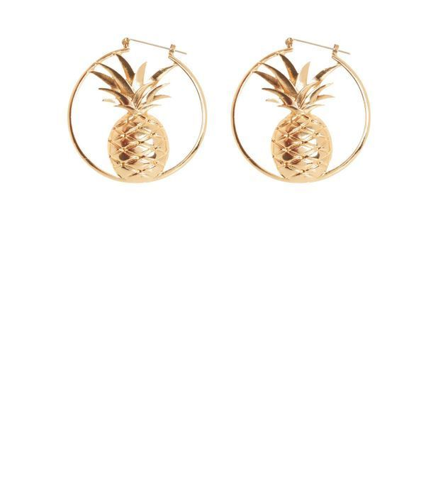 Boucles d'oreilles ananas New Look