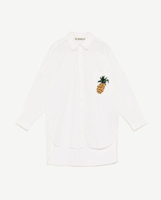 Chemise ananas Zara