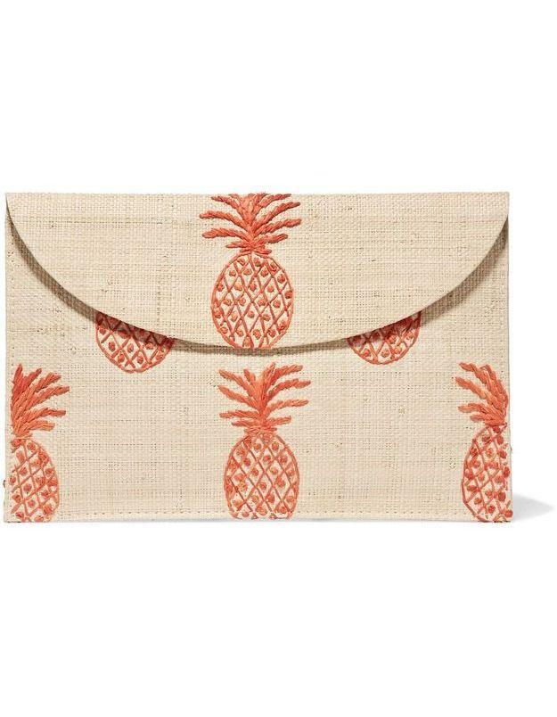 Pochette ananas Kayu