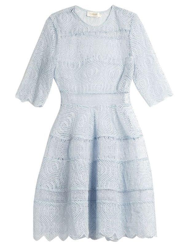 Mini-robe transparente Zimmermann