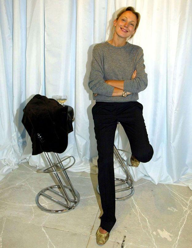 Backstage Chloé en 2002