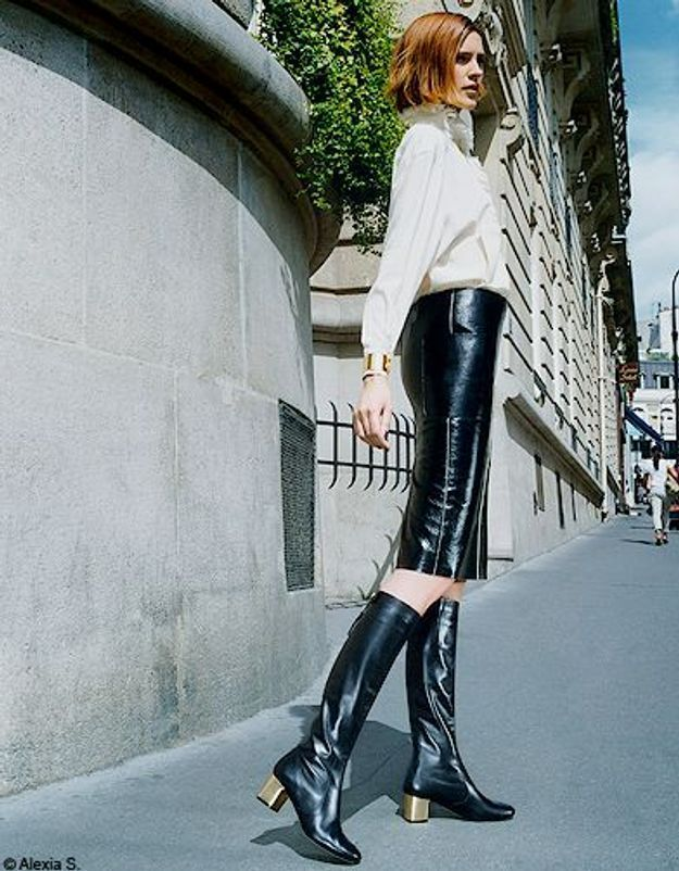 Mode tendances look accessoires chaussures p241
