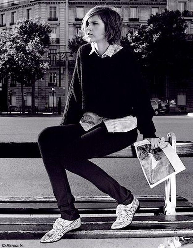 Mode tendances look accessoires chaussures p247