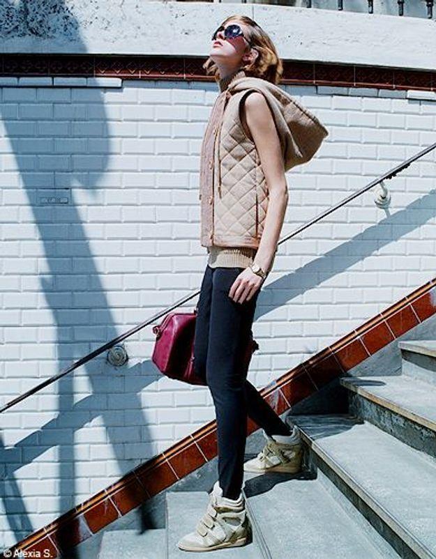 Mode tendances look accessoires chaussures p257