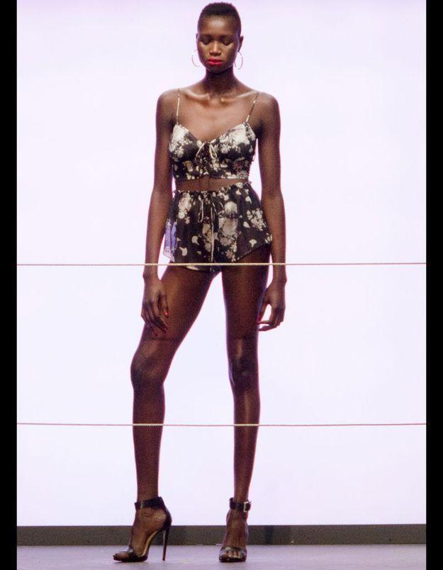 Défilé Rihanna pour River Island Fashion Week Londes automne hiver 2013 2014