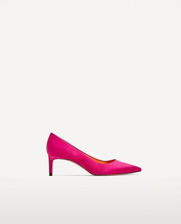 Escarpins fuchsia Zara