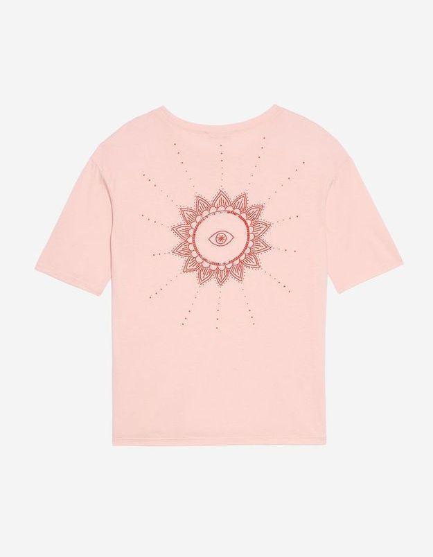 T shirt perlé Sandro