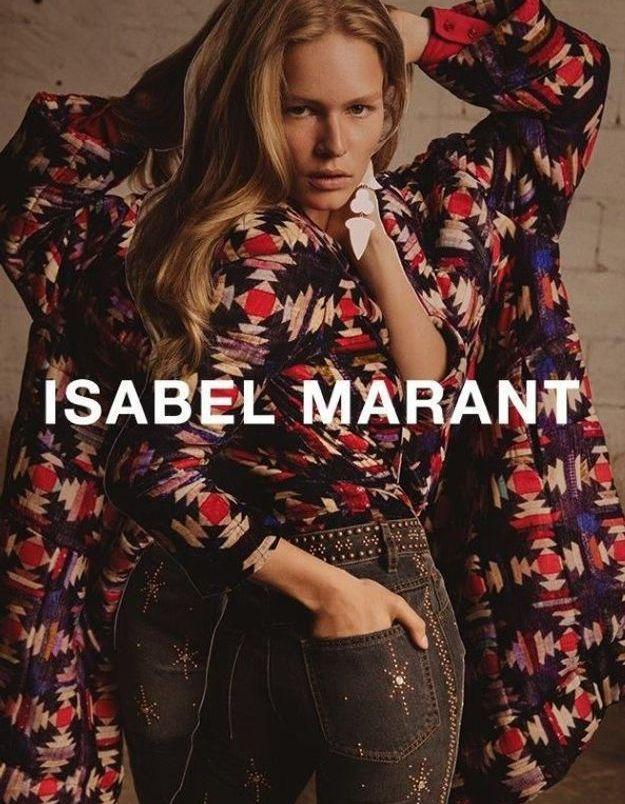 Isabel Marant automne-hiver 2017-2018