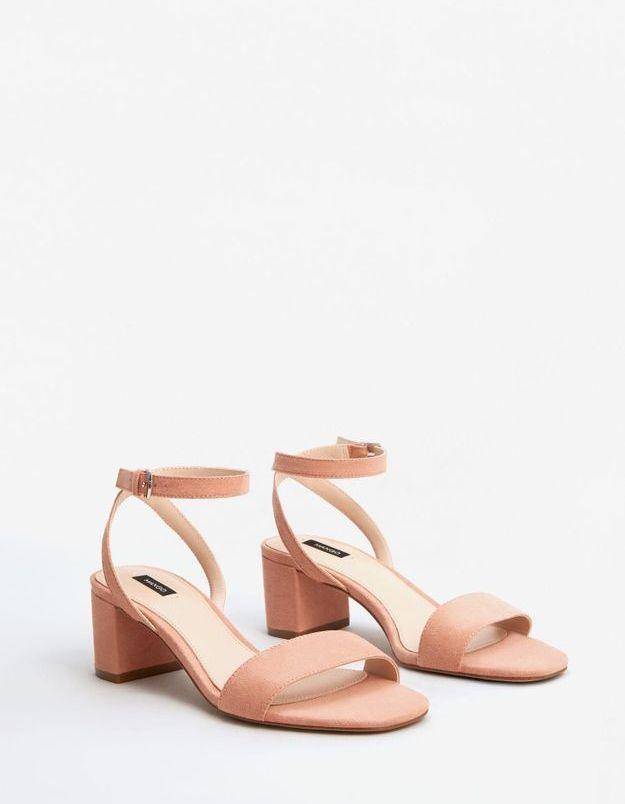 Sandales rose Mango