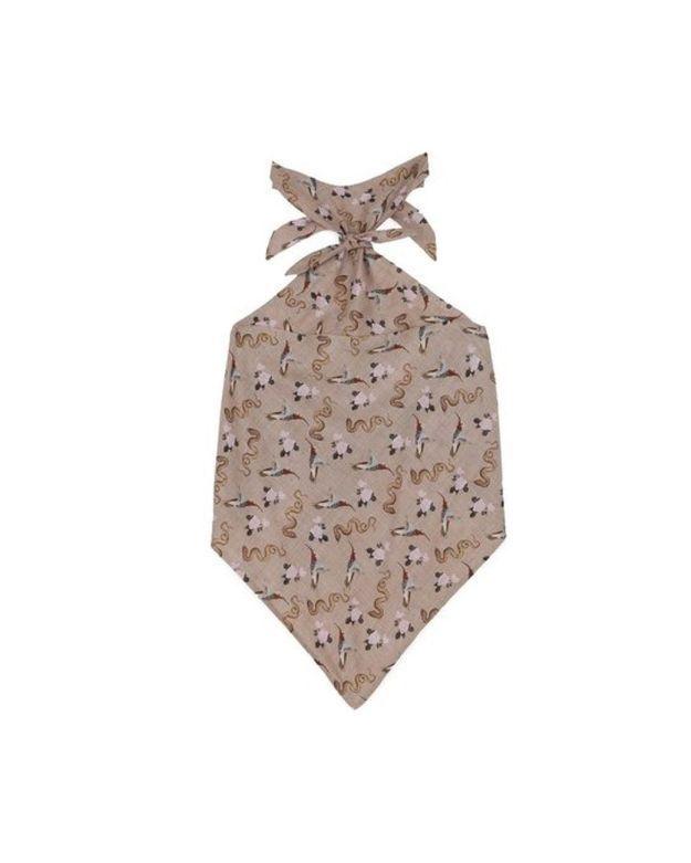 Top foulard - Western print Nanushka
