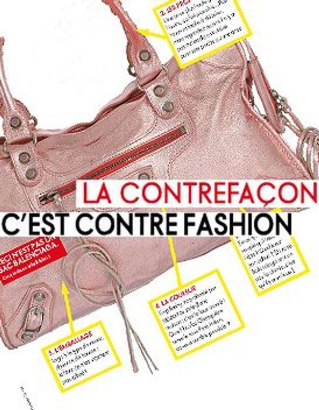 La contrefaçon, c'est contre fashion