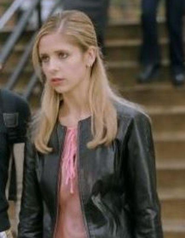 Le caban en cuir - La veste mythique a marqué le personnage de Buffy contre les Vampires