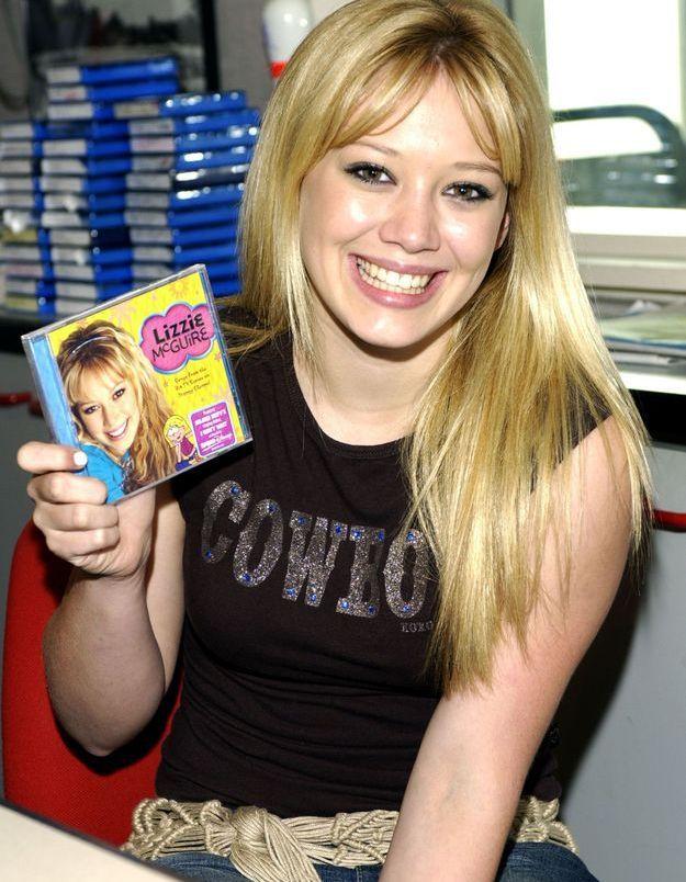 Le néo-marcel à strass, le tee-shirt qui pimpait les looks - Hilary Duff