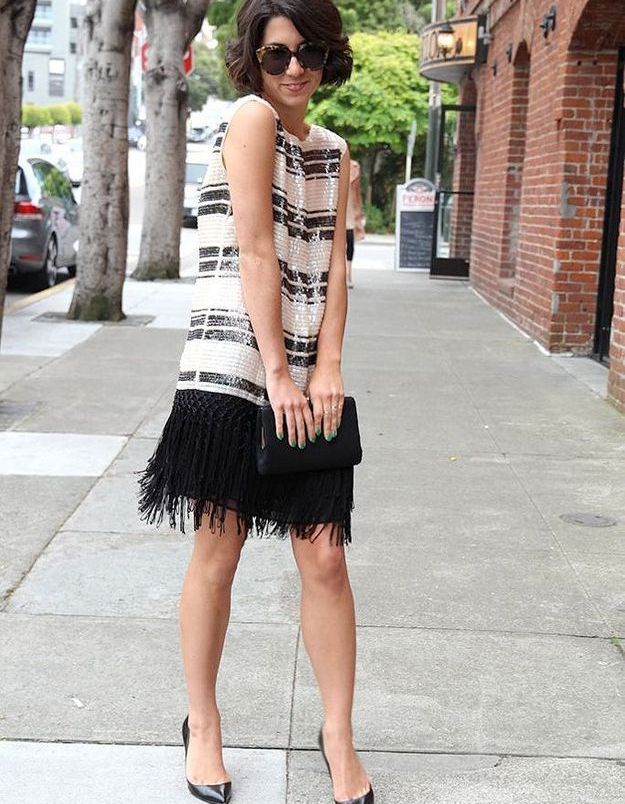 Mode années 20 robe charleston