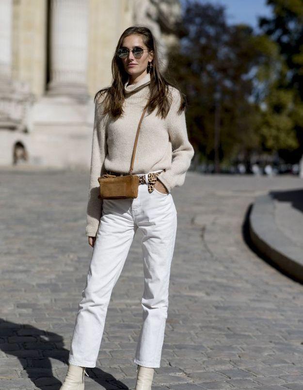 Le jean immaculé