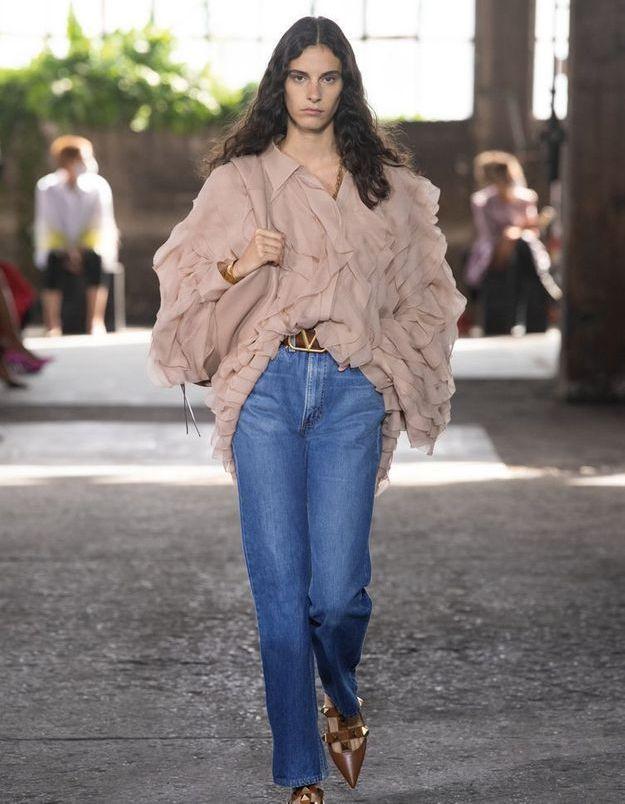 #ElleFashionCrush : Valentino x Levi's, la collaboration denim qu'on attendait tant
