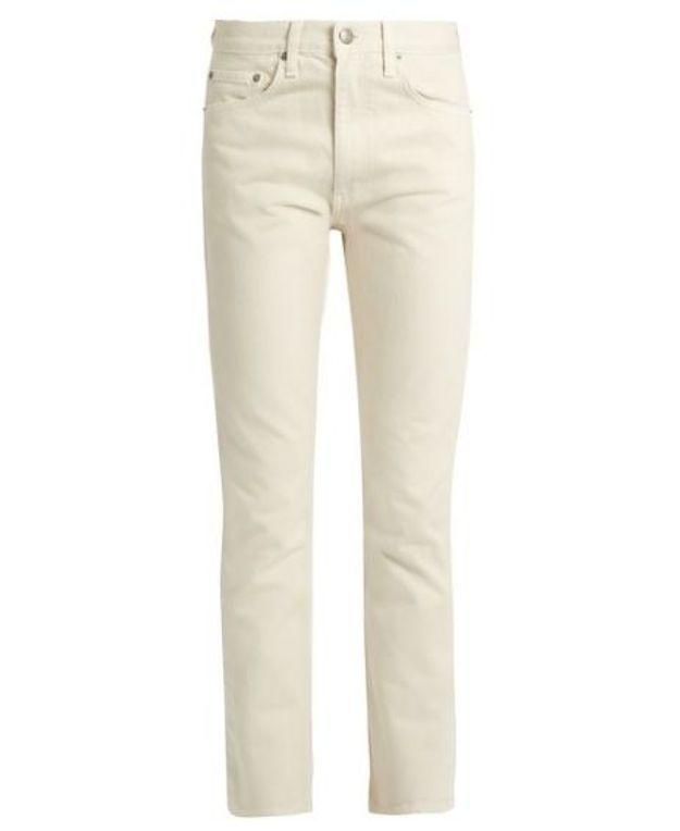 Jean de couleur beige Brock