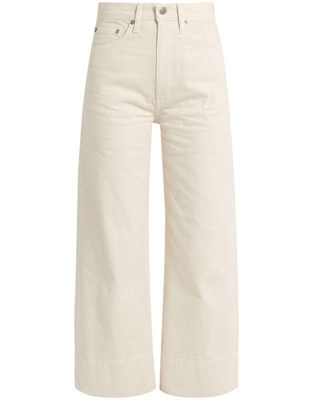 Jean de couleur écru Brock Collection