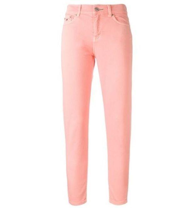 Jean de couleur saumon Tommy Jeans