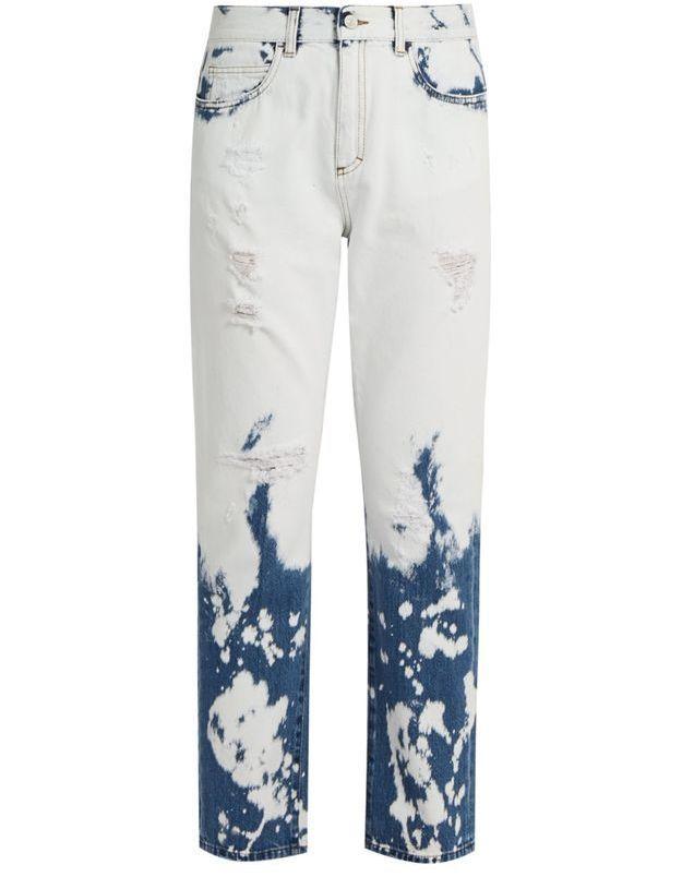 Jean de couleur tie & dye Gucci