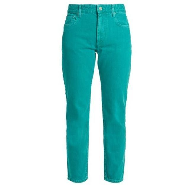 Jean de couleur vert Isabel Marant