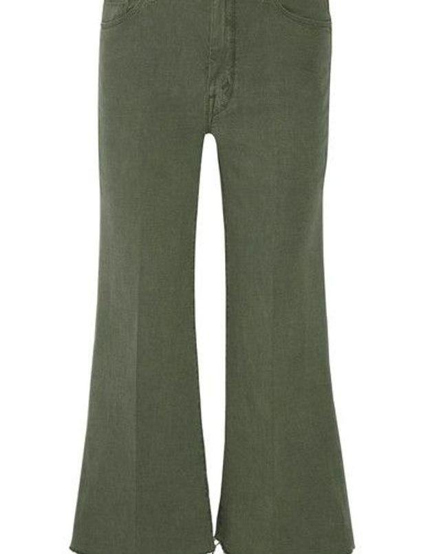 Jean de couleur vert kaki Mother