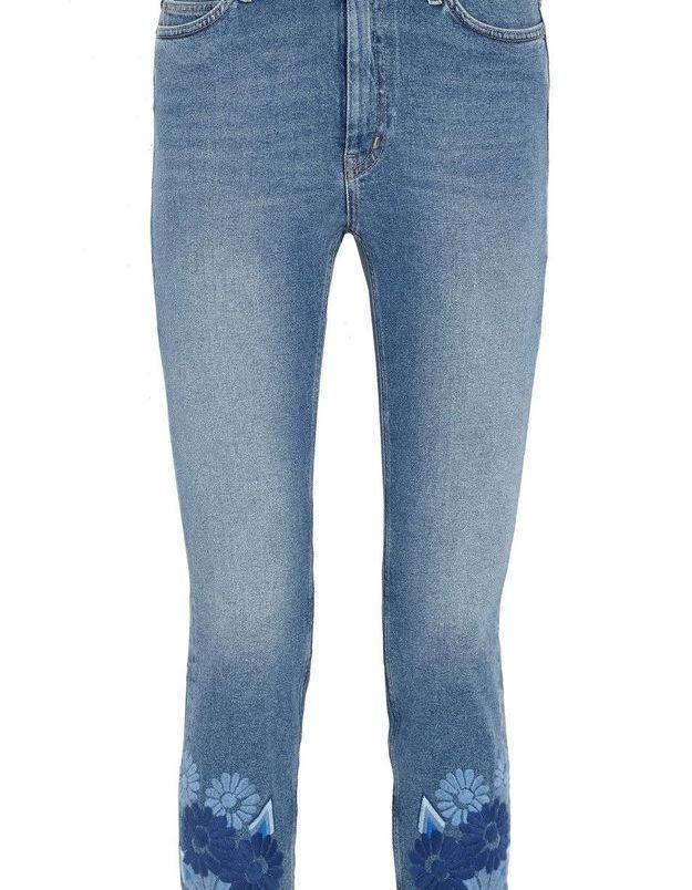 Jean slim brodé M.I.H Jeans