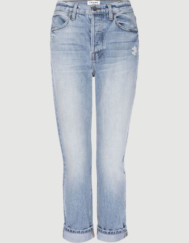 Jean taille haute Frame