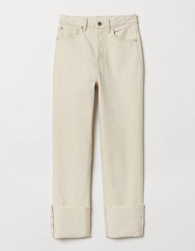 Jean taille haute H&M