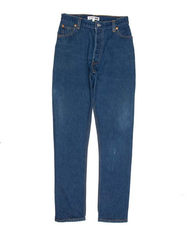 Jean taille haute Levi's by Re/Done