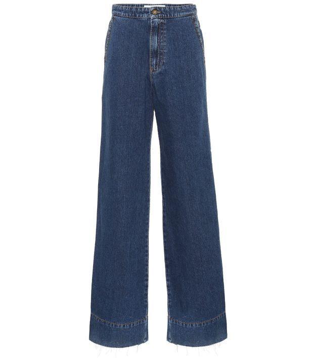 Jean taille haute Loewe