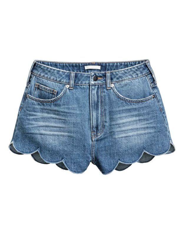Short en jean H&M