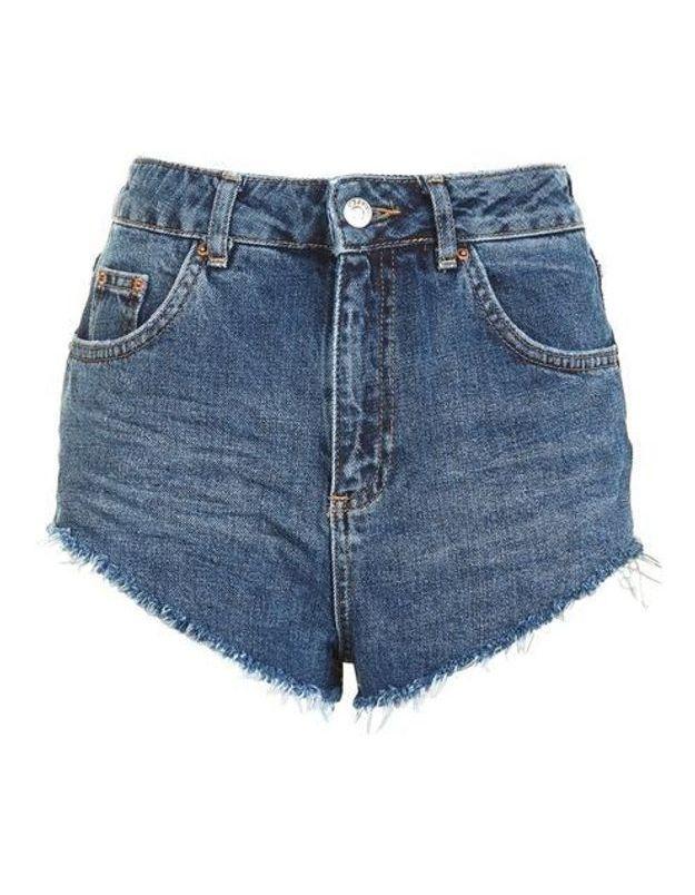 Short en jean Topshop