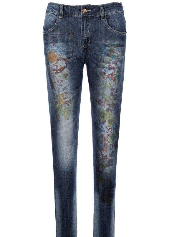 Tendance jean imprimé