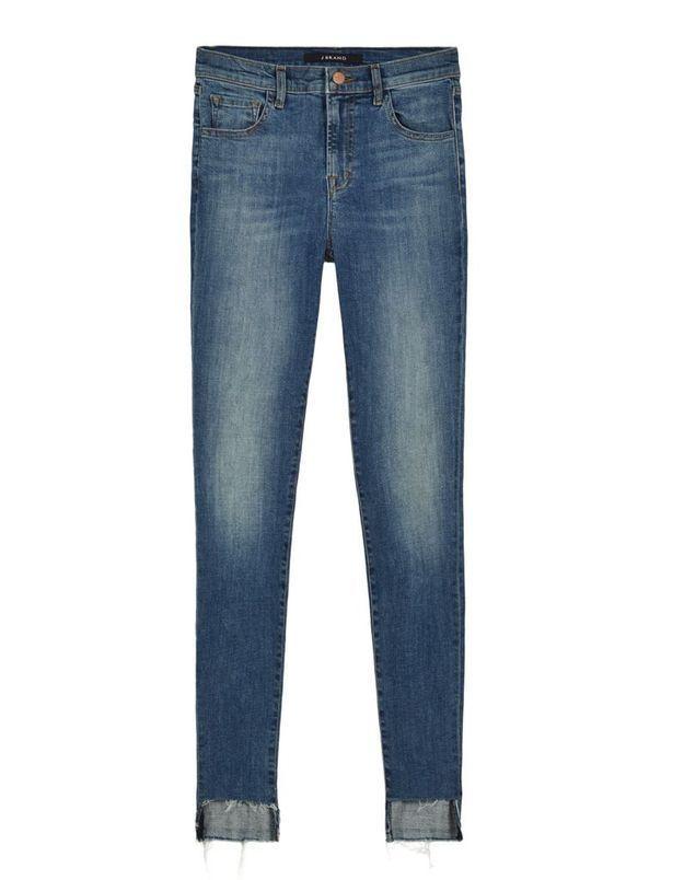 Tendance jean taille haute