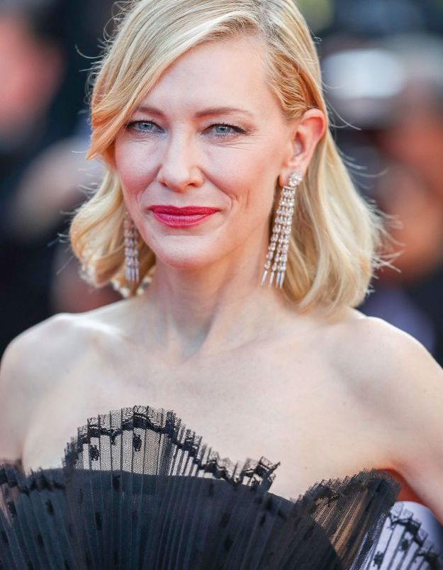 Les boucles d'oreilles Chopard de Cate Blanchett