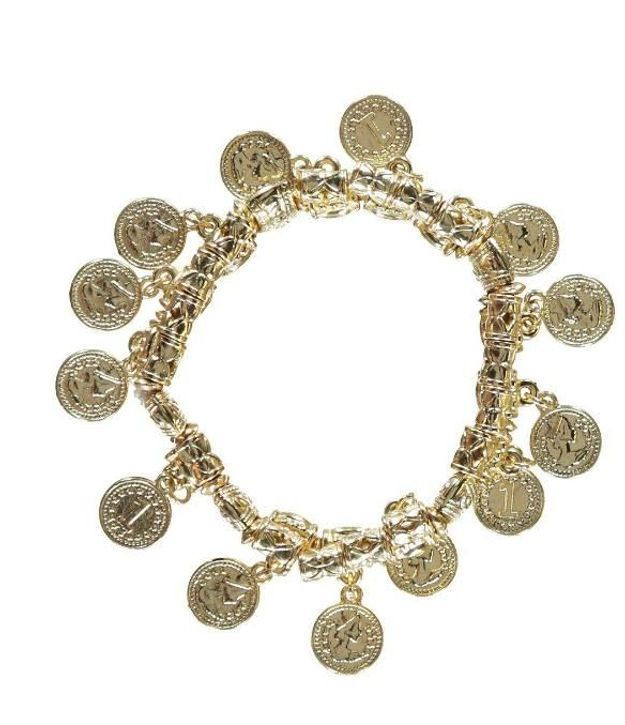Bracelet à charms pièces